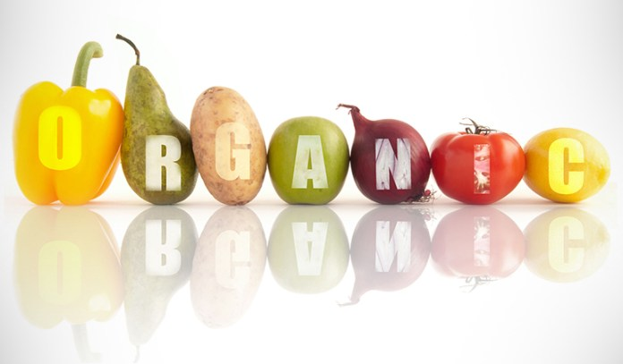 Organic foods have a five-digit number beginning with a nine.