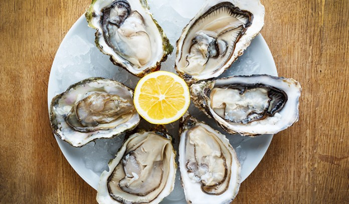 Oysters are rich in zinc that maintain the health of hair follicles