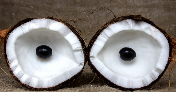 Is coconut oil good for eyes