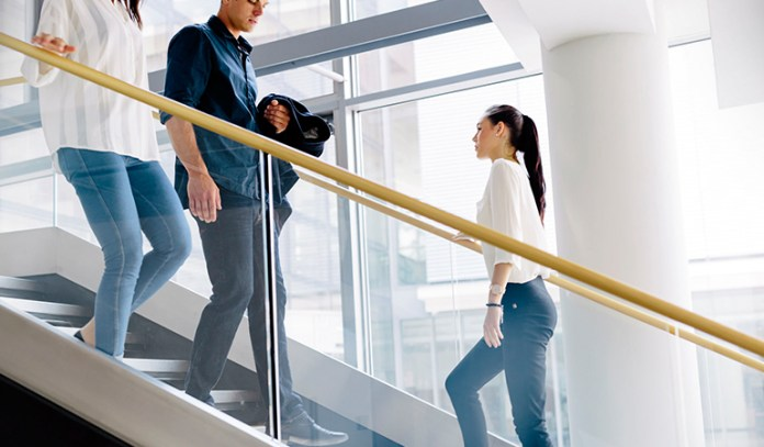 Get more activity by taking the stairs