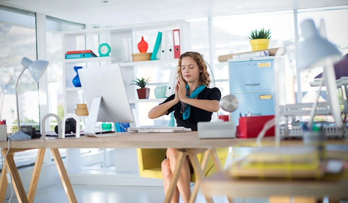 Incorporating simple desk exercises can be very beneficial to your posture and overall health.