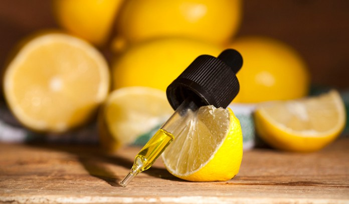two drops of essential oil are enough