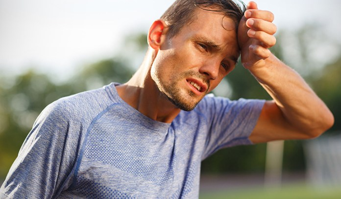 Hyperthermia is the overheating of the body usually because of hot and humid conditions