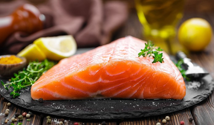 Salmon gives your immunity a much needed boost of vitamin D that helps fight the flu.