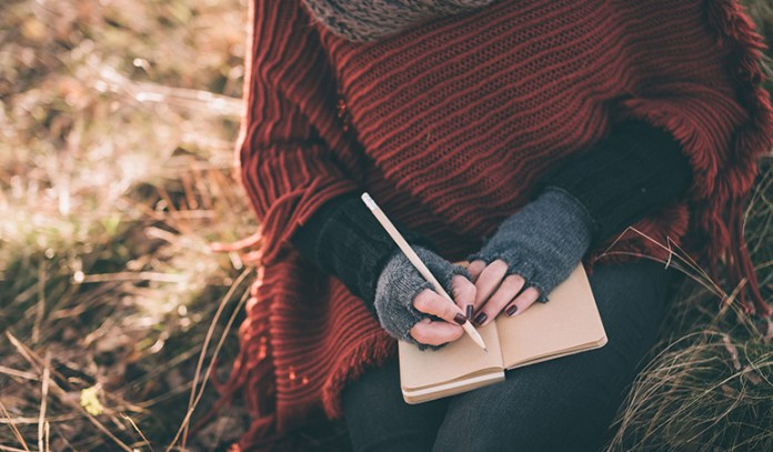 Journalling helps you express yourself.