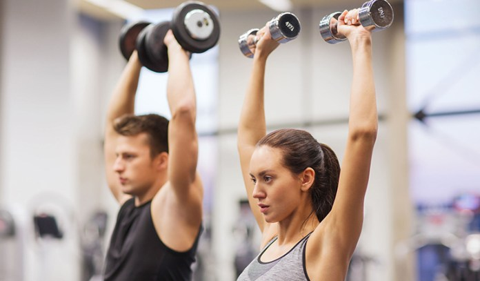 To increase strength, do high-intensity workouts.