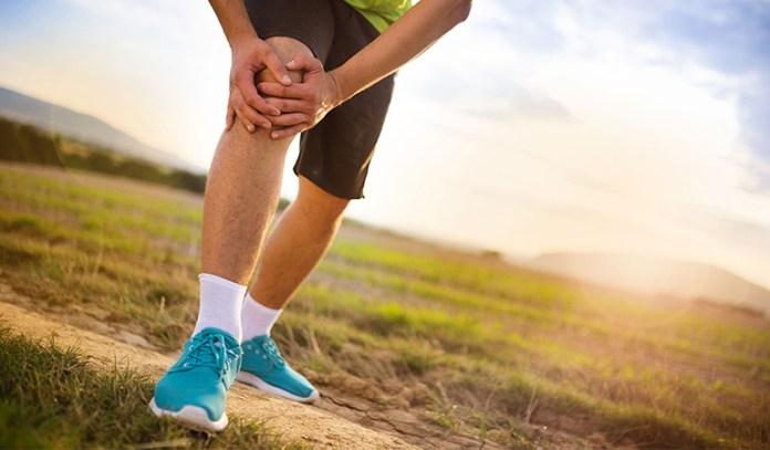 An injury to the ACL ligament can cause clicking in the knee joint