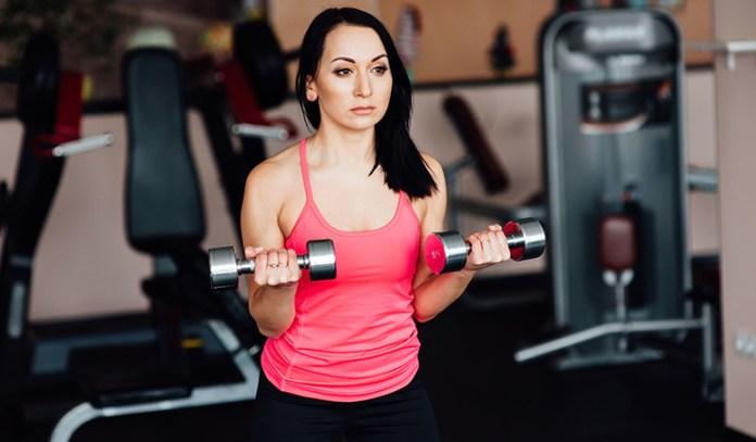 Bicep curls strengthen biceps.