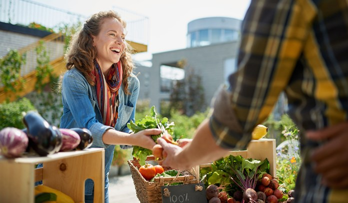 Buy Local Produce Whenever Possible
