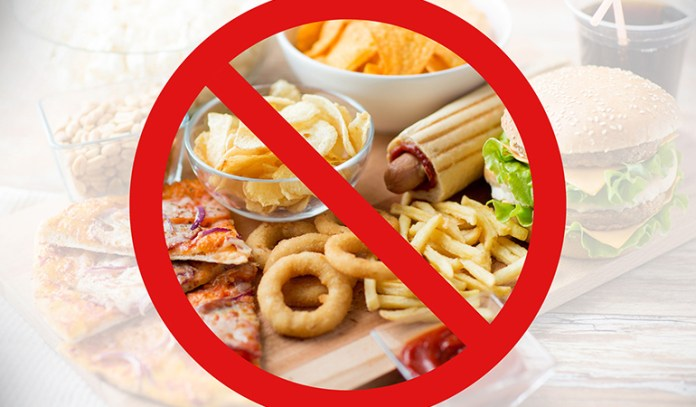 Avoid fried food to prevent inflammation of the skin and hence adult acne