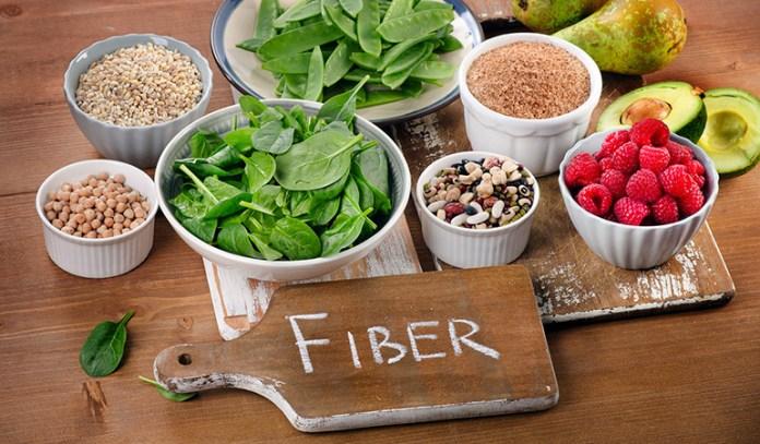 fiber-containing foods and sugar control