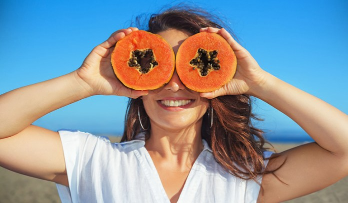 Get a naturally clear skin with gram flour, oranges, and papayas