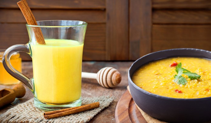Turmeric may be added to teas, milk, soups, and may even be consumed as a supplement.