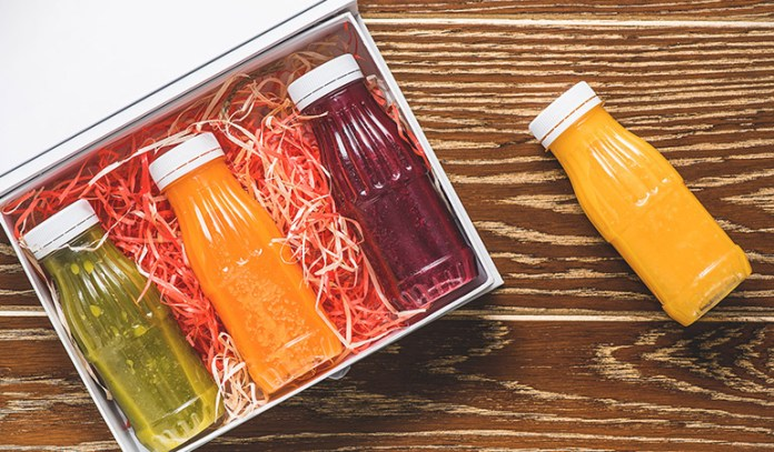 Fruit juices lack fiber.