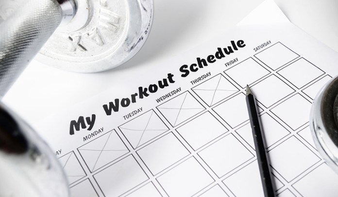 Set achievable fitness goals for yourself to stay motivated and get fit faster