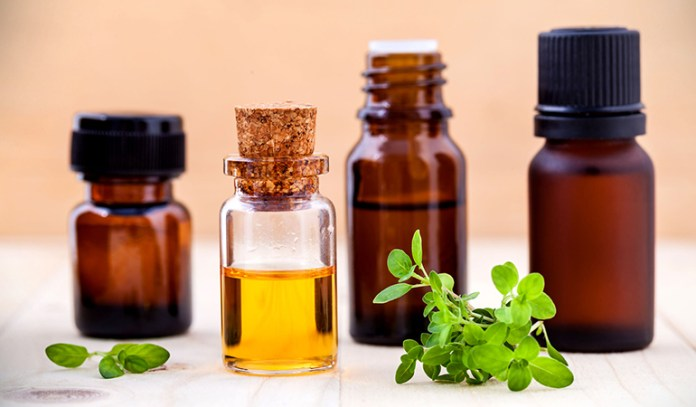 Thyme oil contains strong antimicrobial properties