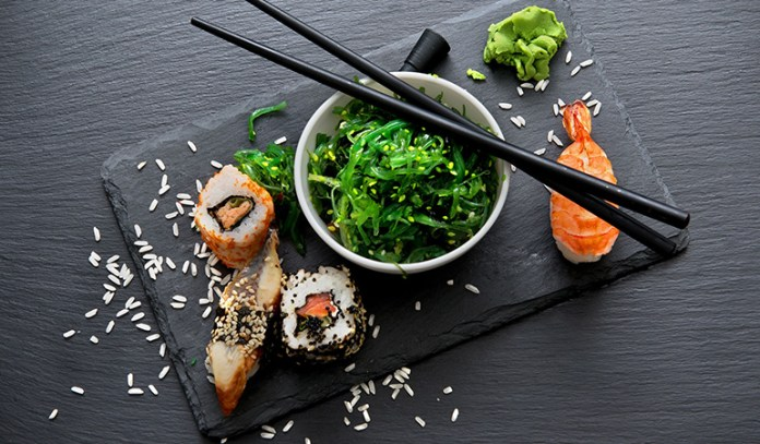 Seafood is rich in iodine.
