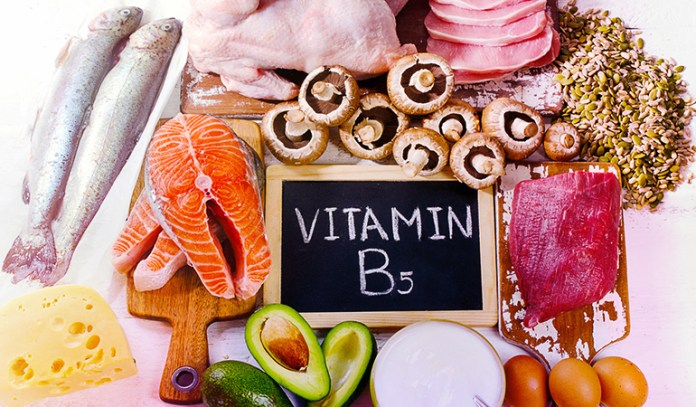 Vitamin B5 treats the allergic reaction by regulating cortisol production.