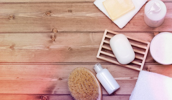 Most regular soaps are packed with harsh chemicals that irritate the skin