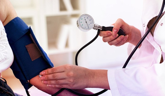 Keep your blood pressure under control to reduce the risk of stroke and an aneurysm