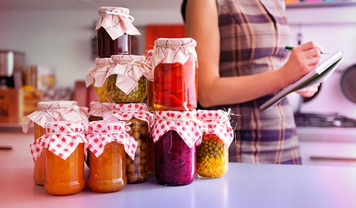 Pickling foods is a good way to preserve and store food