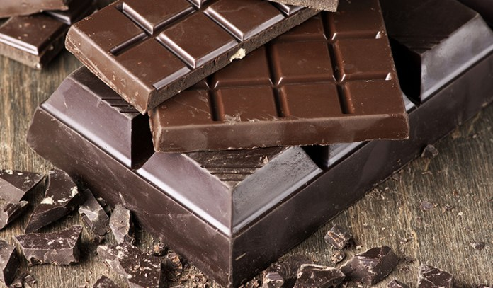 The resveratrol in dark chocolate fuels fat-burning.