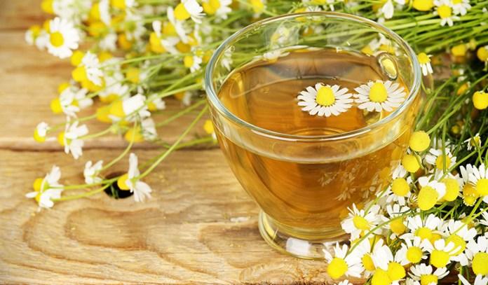 Herbal teas have calming effects.