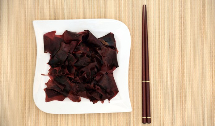 Dulse seaweed is a good substitute for table salt
