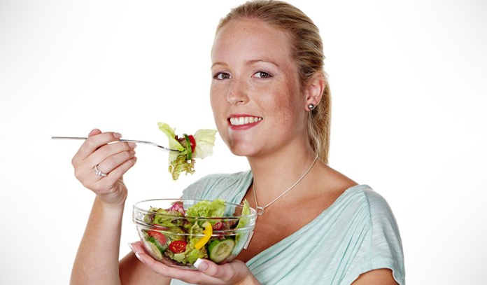 avoid greasy food. Eat green vegetables, fruits, and soup instead