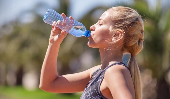 Energy water sneak caffeine into the body