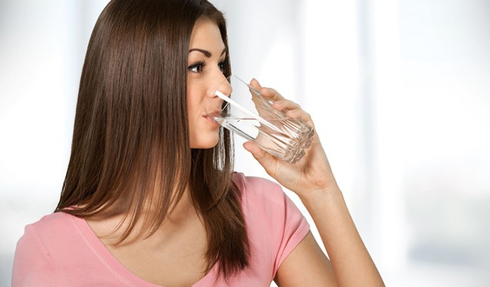 Drink plenty of water to aid digestion