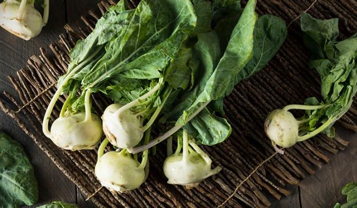 Kohlrabi are nutritious vegetables with a mild, sweet taste