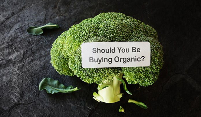 Organic produce is not treated with pesticides and reduces health risks