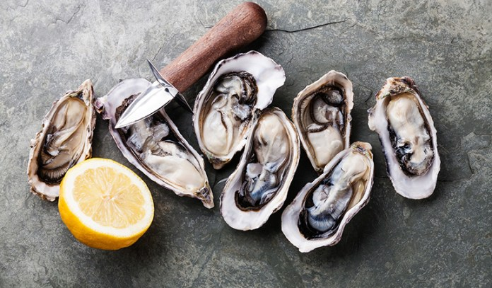 Oysters contain zinc that can fight mood disorders