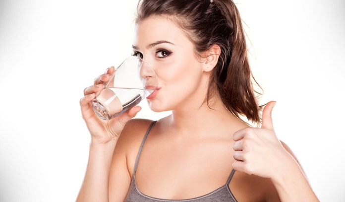 Drink 8 glasses of liquid to stay hydrated.
