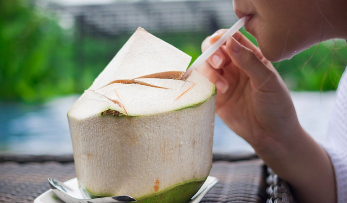 Coconut water can cure a hangover