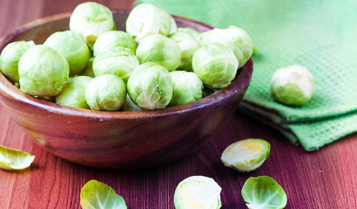 Brussel sprouts meet 20% of your folate DV.