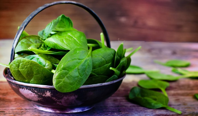 Half a cup of boiled spinach contains 444.25 mcg of vitamin K.