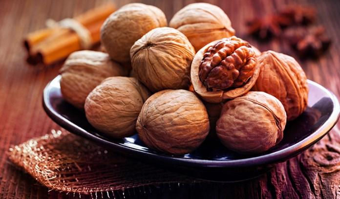 An ounce of English walnuts has 2.57 gm of ALA
