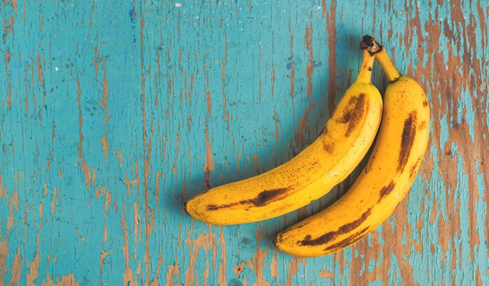 Bananas are rich in magnesium.
