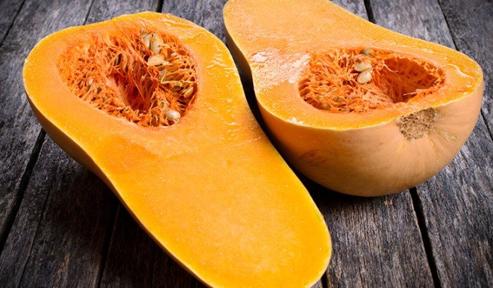 Butternut squash is rich in magnesium.