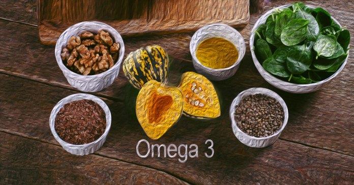 Vegetarian sources of omega 3