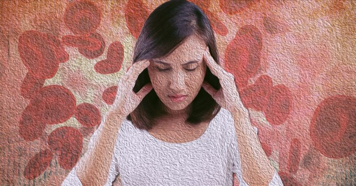 Symptoms of iron deficiency include shortness of breath, fatigue, and paleness.