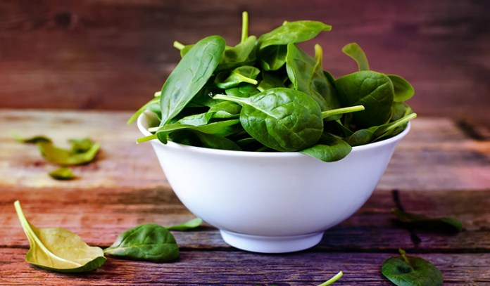 1 cup of spinach: 157 mg of magnesium (37.3% DV)