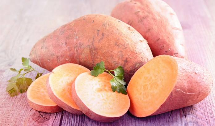 1 cup of sweet potato, mashed: 59 mg of magnesium (14.0% DV).
