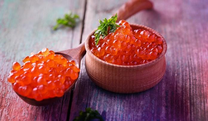 1 oz serving of caviar has 0.8 mcg of vitamin D.