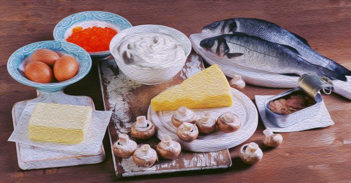Foods for vitamin D deficiency.