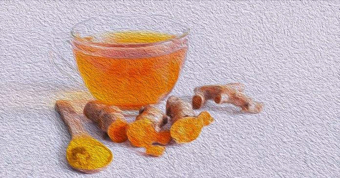 Benefits of turmeric tea.