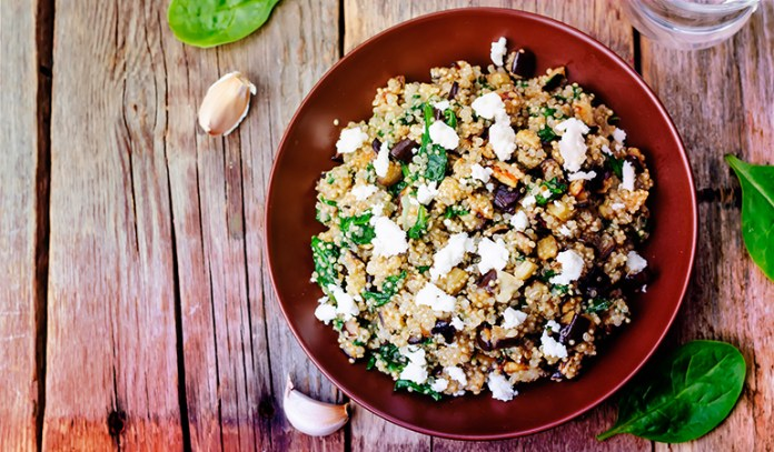 1 cup of cooked quinoa: 0.2 mg of vitamin B2 (15.4% DV)