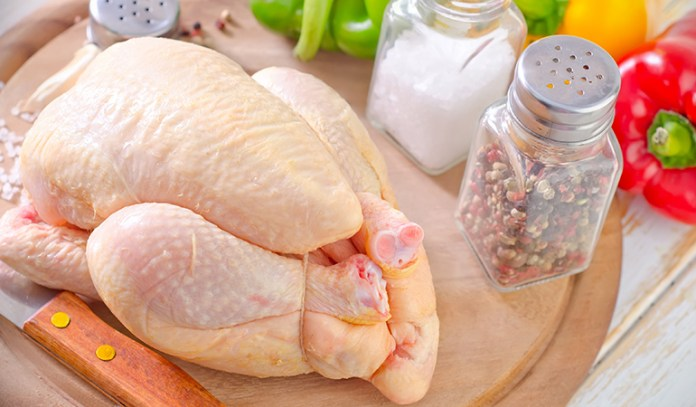 3 ounce serving of chicken or turkey: 1 mg of iron (6% DV)